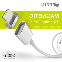 Apple Lightning to USB Magnetic Cable, GEEPIN 3.3ft High Spe