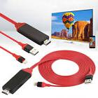 1 Roll HDMI Lightning To HDMI TV AV Adapter Cable Connect Sp
