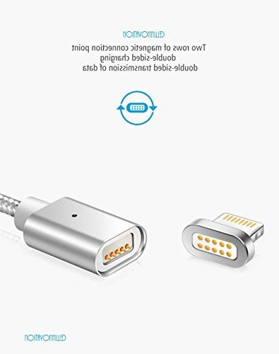 Cellinnovation Magnetic Lighting USB QC Charging Data-Transmission Cable-Certified & RoHS Cable Android - Micro USB,