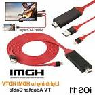 1080P Lightning to HDMI Adapter Game & HDMI Video AV Cable f
