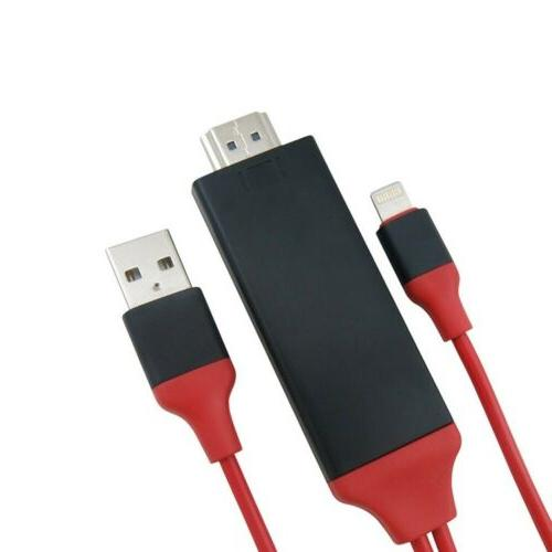1080P 8 to HDMI TV Adapter Cable 6S 8 X