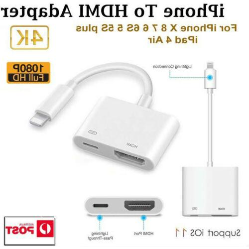 1080P to HDMI Adapter Cable 6 6S Plus