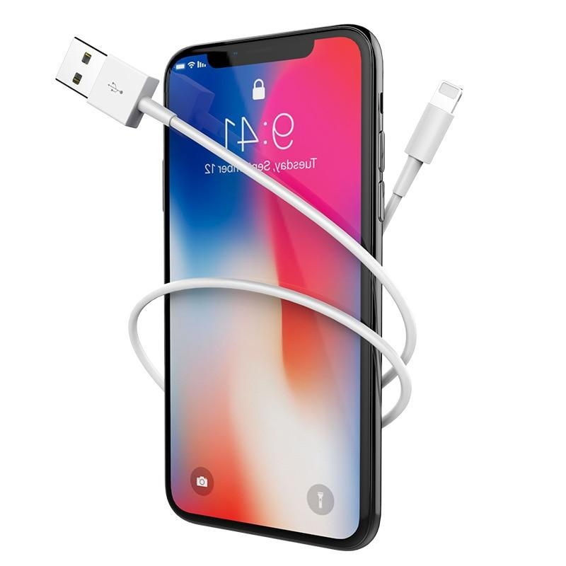 1m USB Data <font><b>Cable</b></font> for iPhone 5 5S 7 8 XS Max XR Charging Mobile <font><b>Cables</b></font>