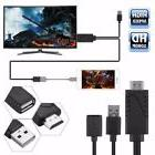 2 in 1 USB to HDMI HD TV Lightning Adapter Cable for Samsung