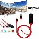 2M 8 Pin Lightning to HDMI TV AV Adapter Cable for Micro And