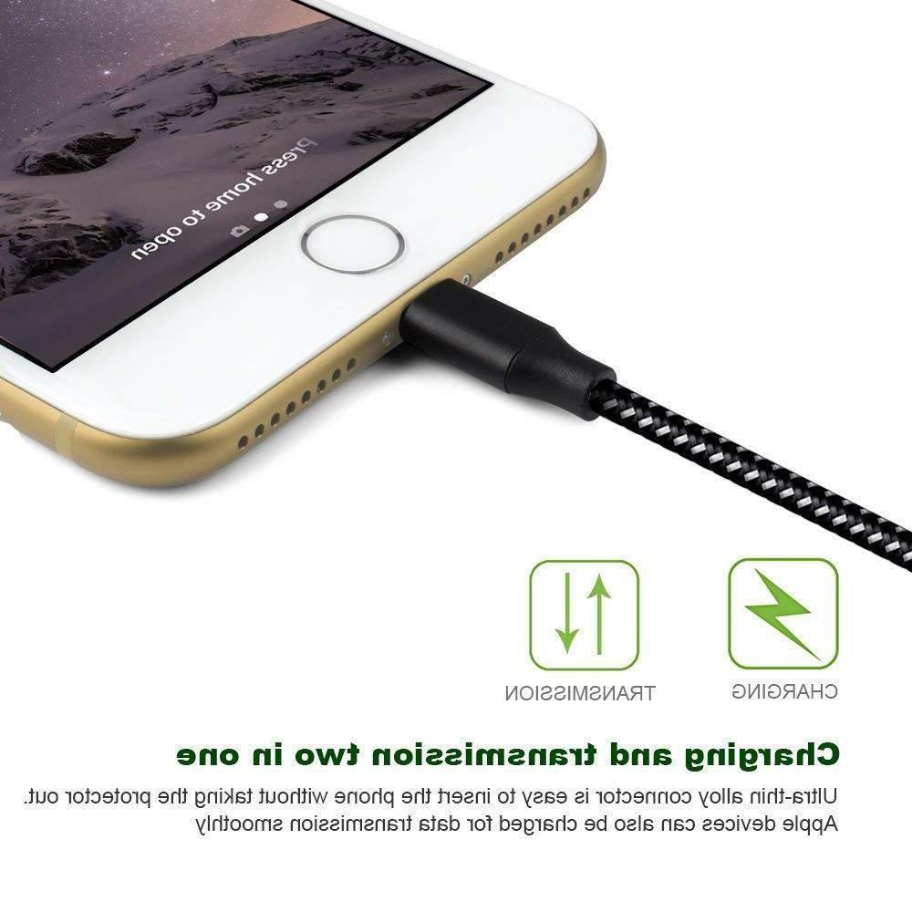 6 Ft Heavy iPhone 8 7 6 plus Charging Cord