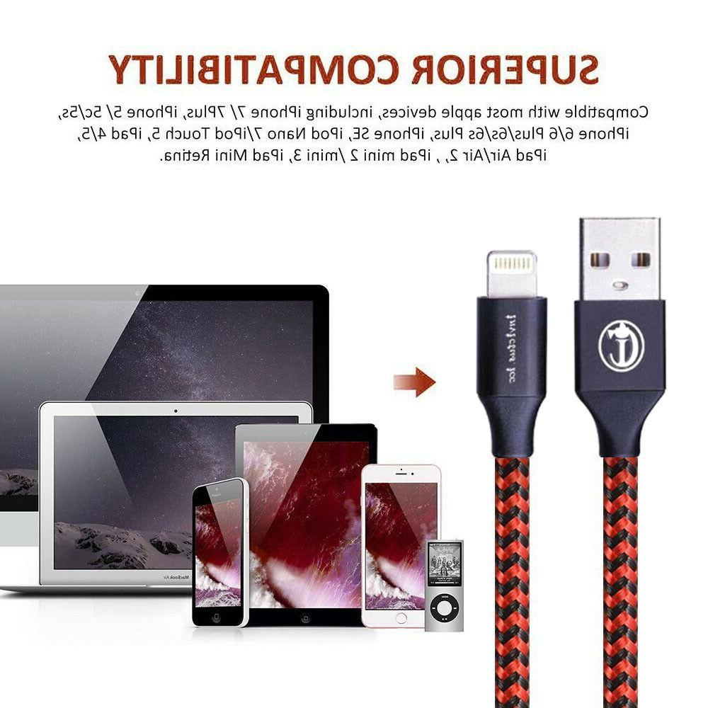3/6/10Ft Cable Apple iPad Charging Cord