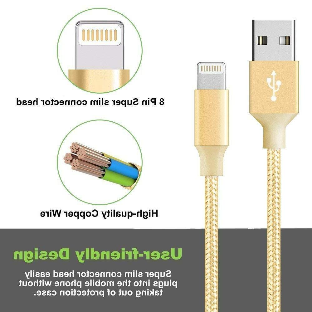 3-Pack Cable 5 7 8 X USB