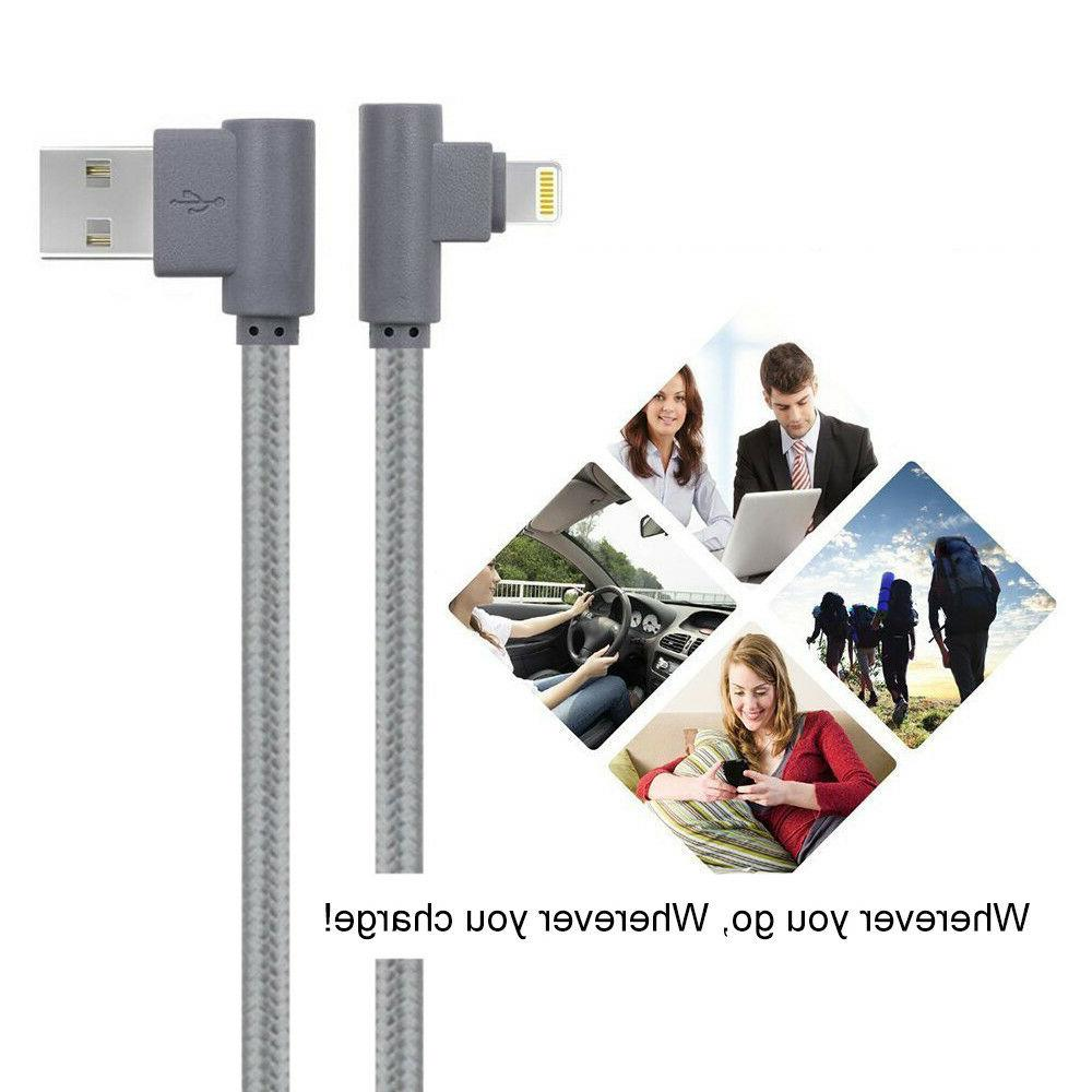 3 iPhone Angle lightning Cable &Data Cord