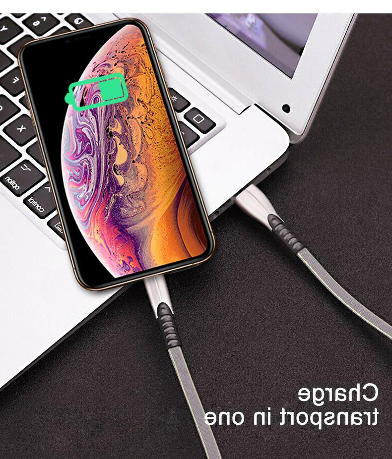 For iPhone X XS 8 7 SYNC Charger Cable Charging Data Cord