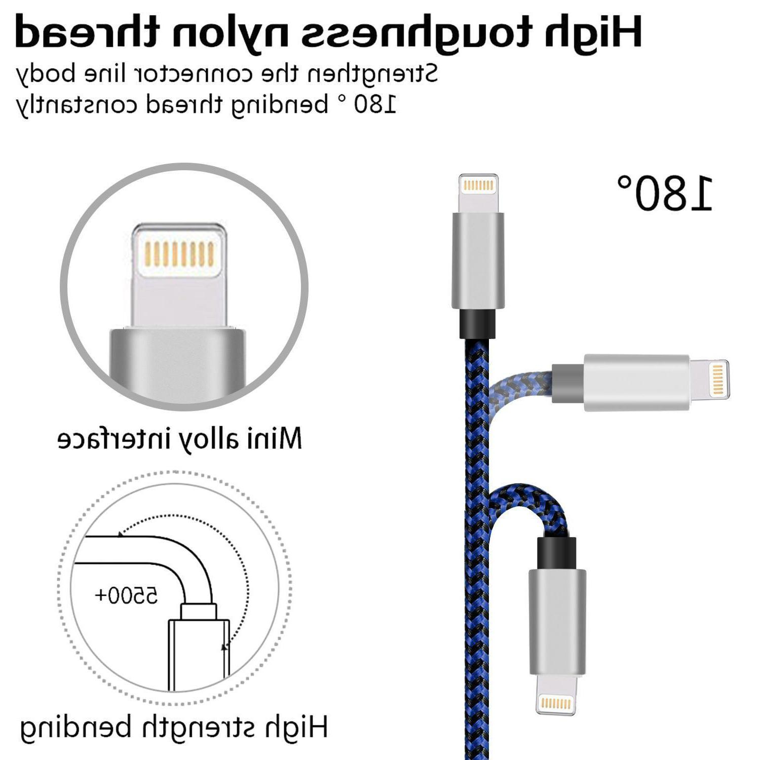 For Lightning Cable Heavy iPhone Plus XR Charger Cord