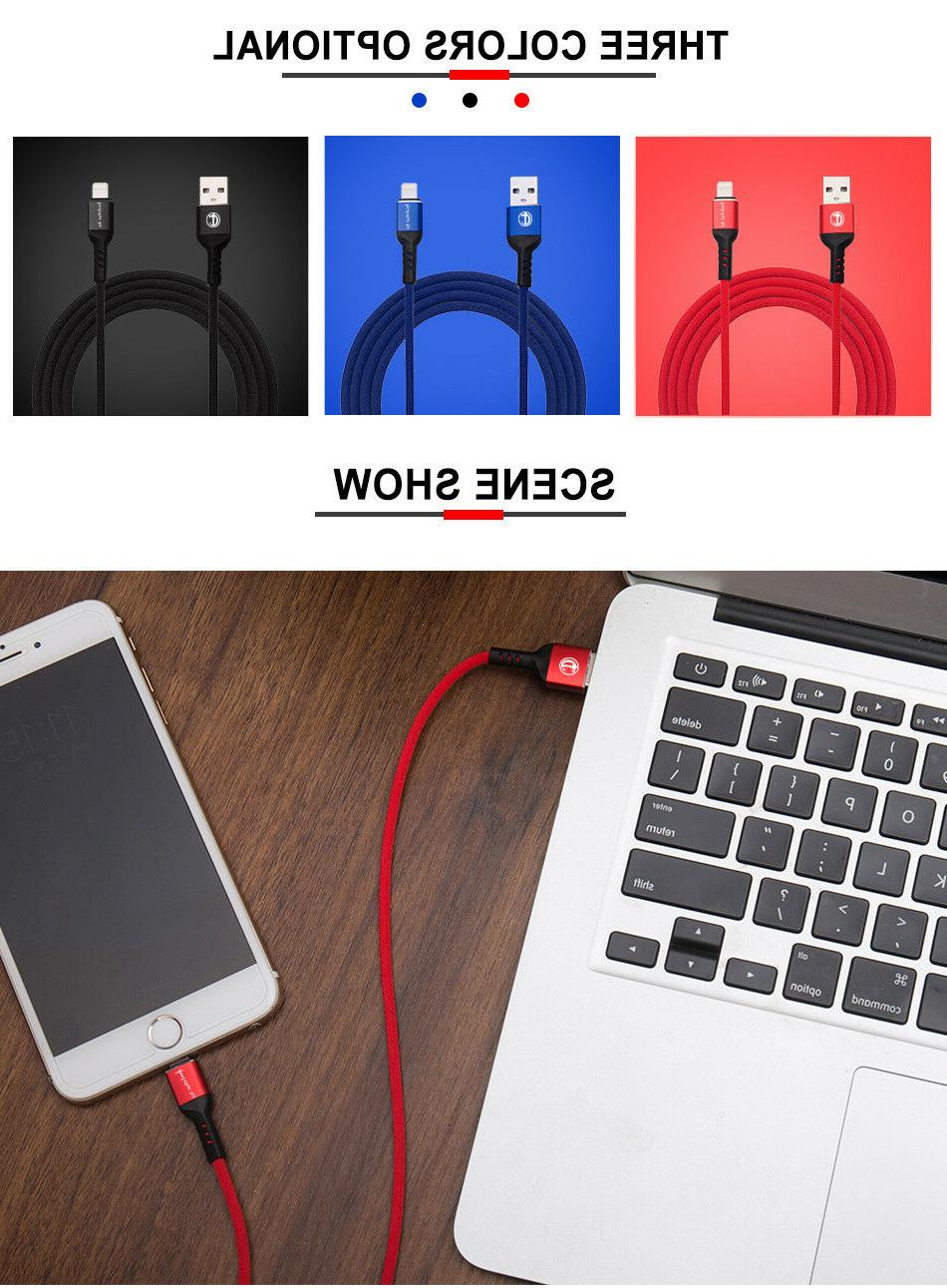 3FT 6FT USB Cord 6s 5s 7 8 Charger Cable
