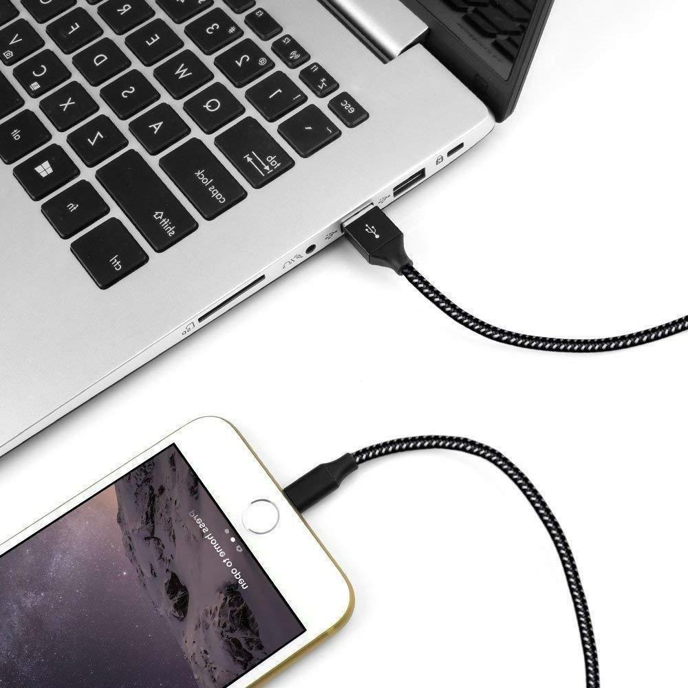 3Pack Lightning Cable Heavy 8 6Plus Charging Cord