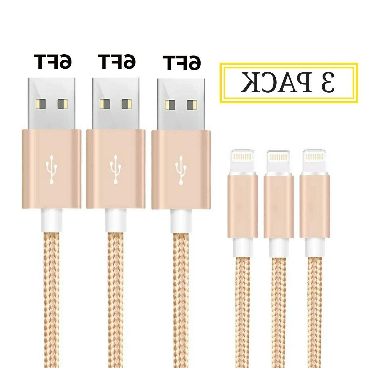 3Pack Heavy Duty For 8 7 Plus Charger Cord