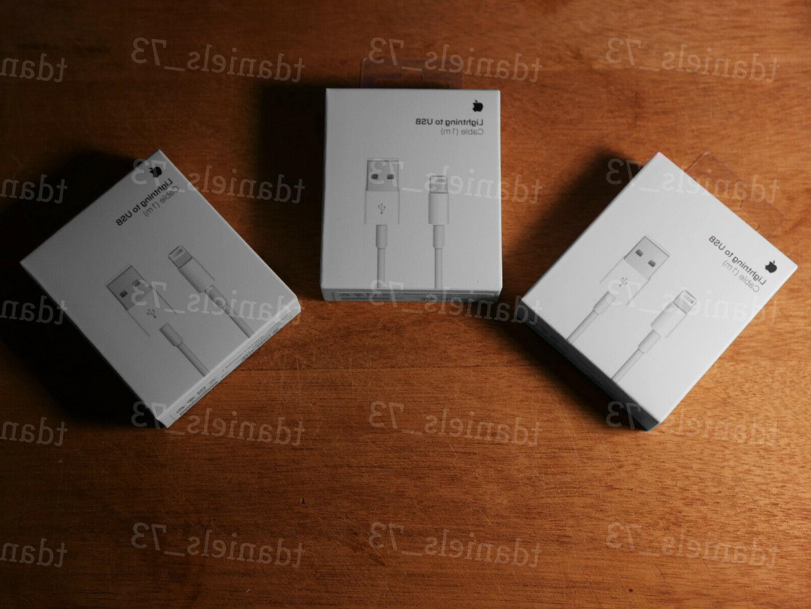 3x New Apple Charge 5 6s 7 X