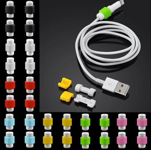 4PCS Lightning Charger Cable Saver Protective Protector for
