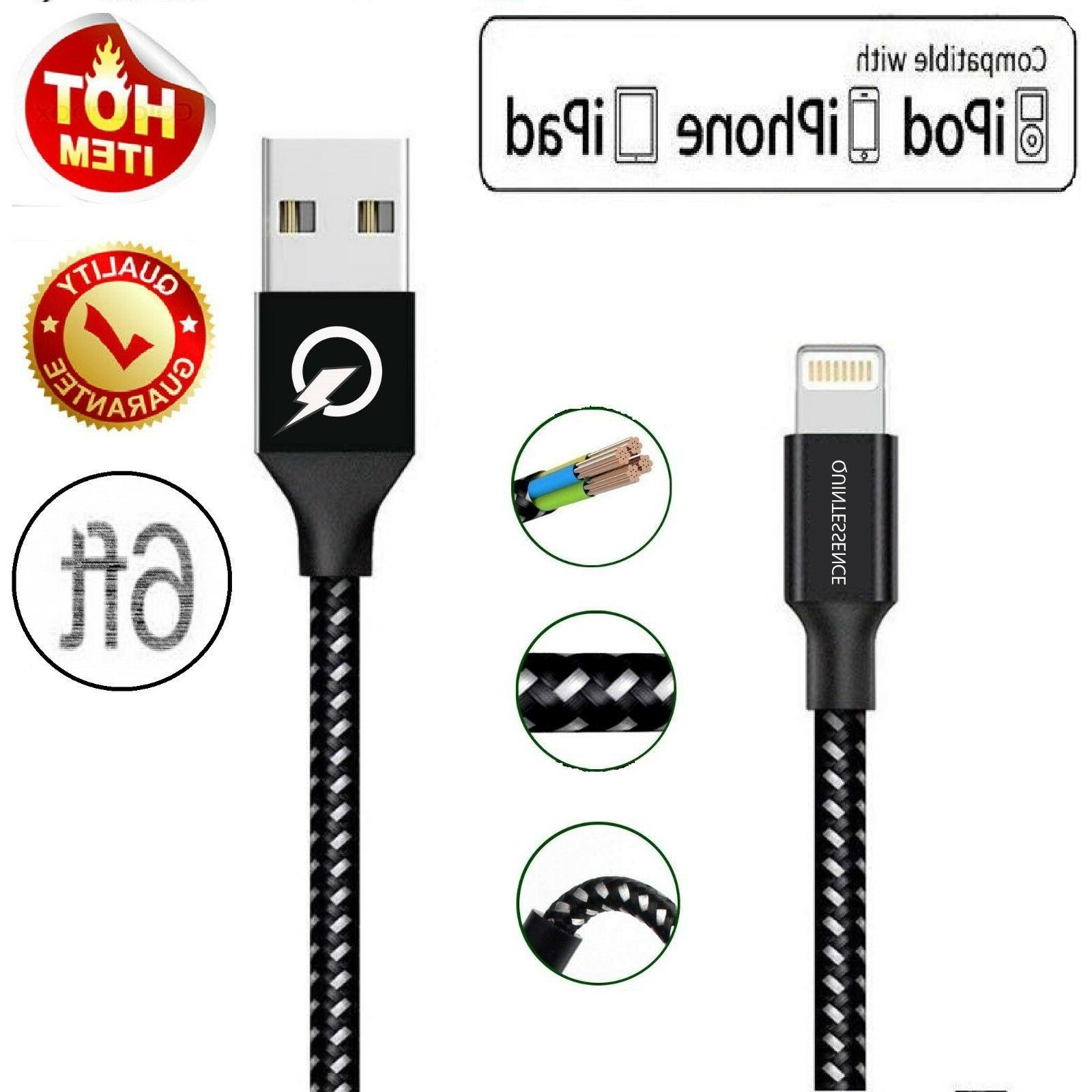 6 ft lightning cable heavy duty iphone