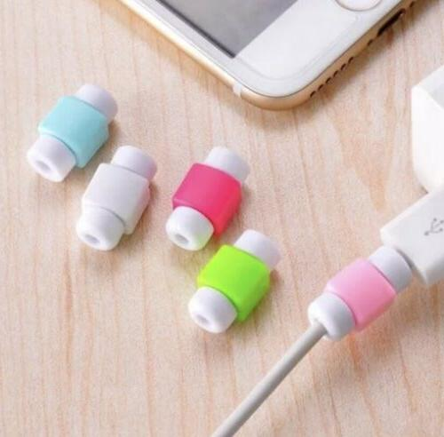 6Pcs USB Cord Charging Cable Saver Cover Protector Kit For A