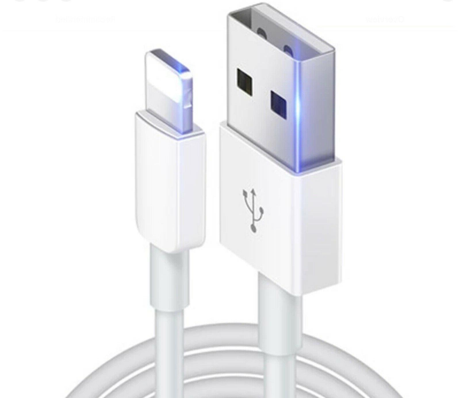 Lightning USB Charger Cable Cord 8 X Plus