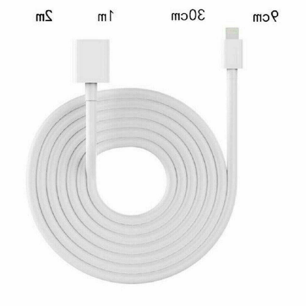 8 Lightning to Female Extension Cable