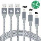Aonlink iPhone Charger 3 Pack 1M 2M 3M Lightning Charging Ca