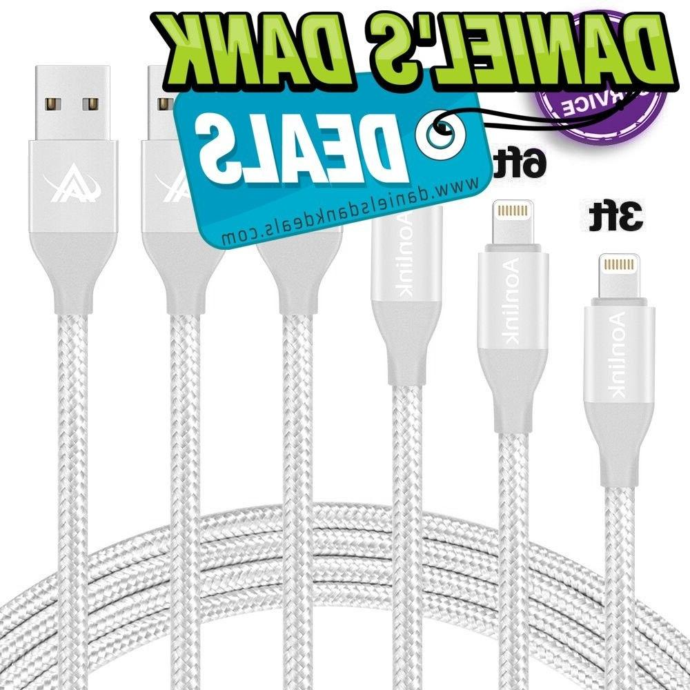 Aonlink iPhone Charger,Aonlink 3 Pack Lightning Charging Cab