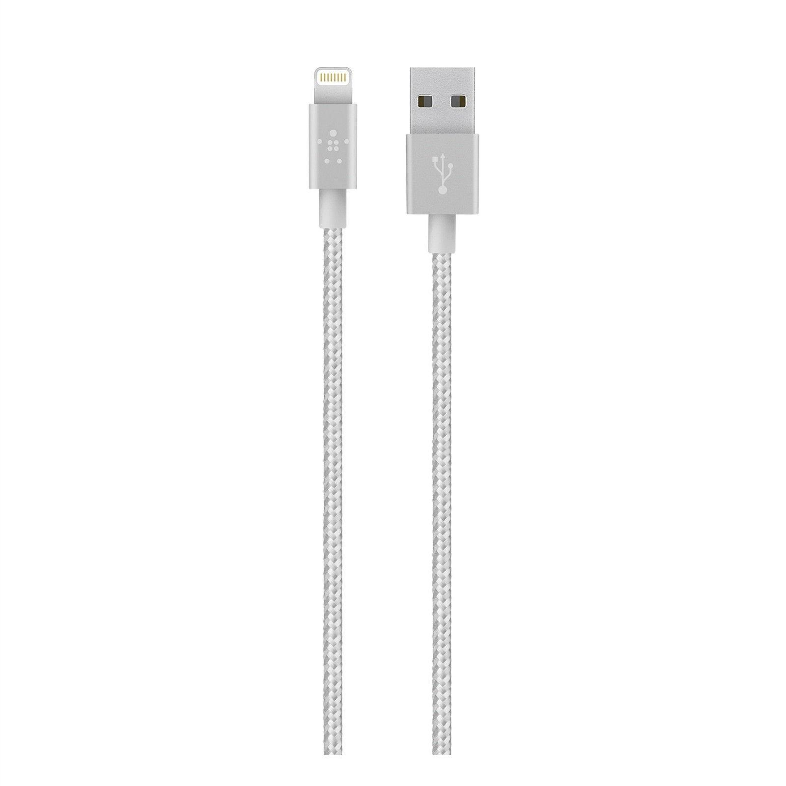 Belkin 4 FT Lightning to USB Braided Tangle Free Cable with