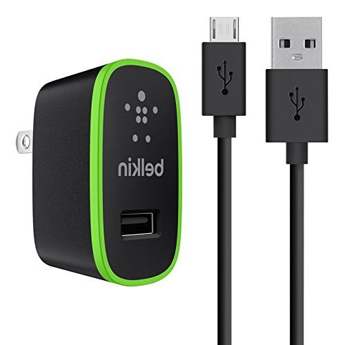 Belkin Universal Home Charger with Micro USB ChargeSync Cabl