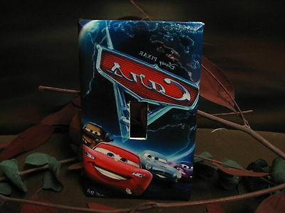Cars Lightning McQueen Switch Wall Plate Cover #2 - Outlet D
