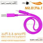 Certified High Speed Flat Lightning USB Sync Charge Cable Co