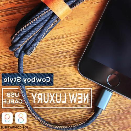 Cowboy Jean Charging Data Cable For Android Micro USB2.0 &IO