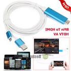 For iPhone X/8/7/6s/Plus/5s iPad 8Pin Lightning To HDMI/HDTV