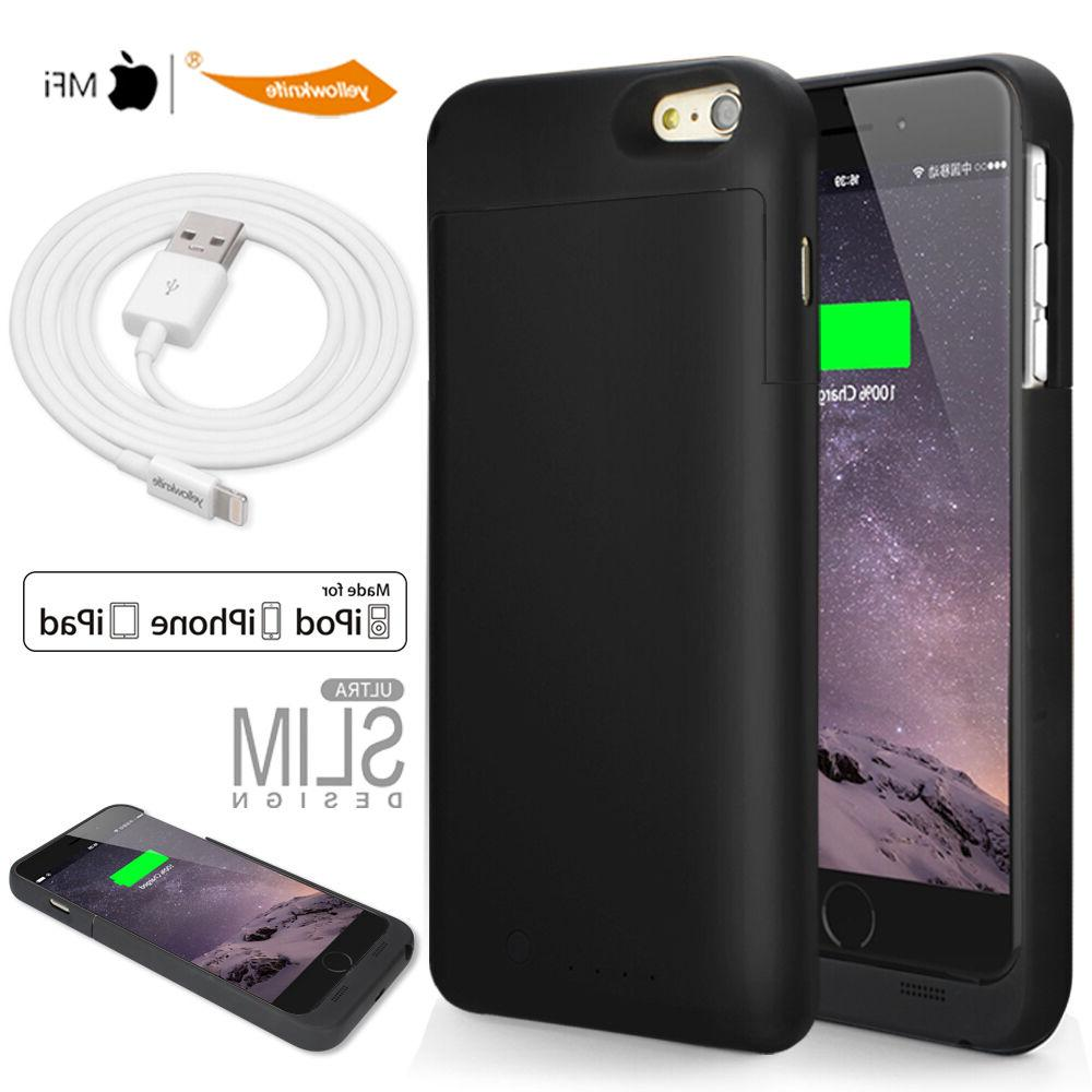 Genuine MFI Lightning 8pin Cable Portable Extended Battery C