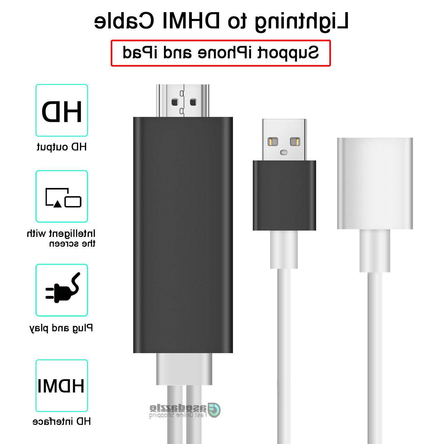 HDMI Mirroring to HDTV Adapter Plus/iPad