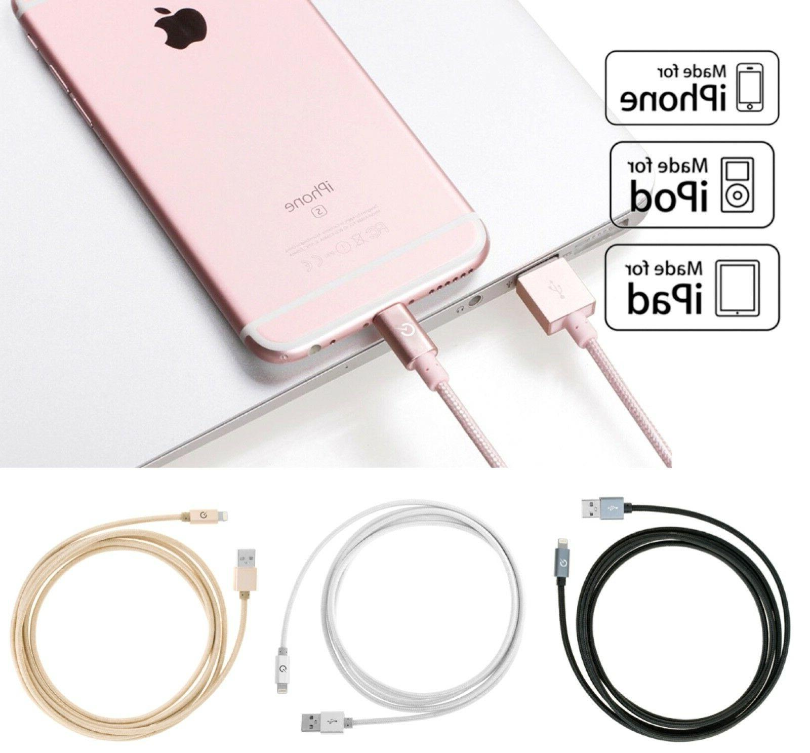 Lightning Cable iPhone MFi 6s X