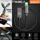 MCDODO LED Auto Disconnect Lightning Data USB Charger Cable