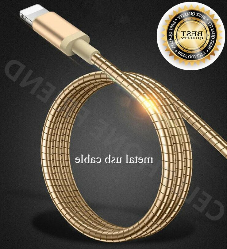 MFi Lightning Metal Fast Cable USB Charger for Apple iPhone