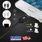 Magnetic Lightning IOS Micro USB Fast Charger Charging Cable