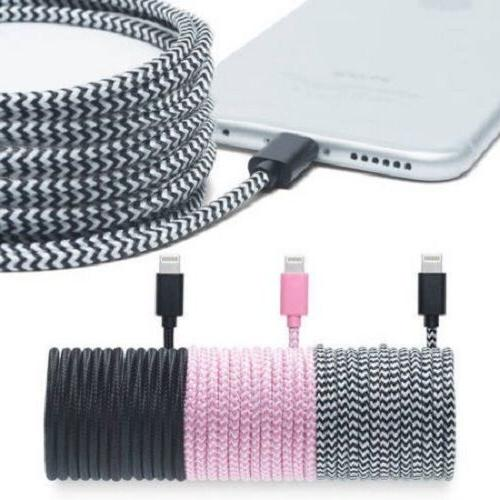NEW Pur Tech Apple-Certified Braided Lightning Cable