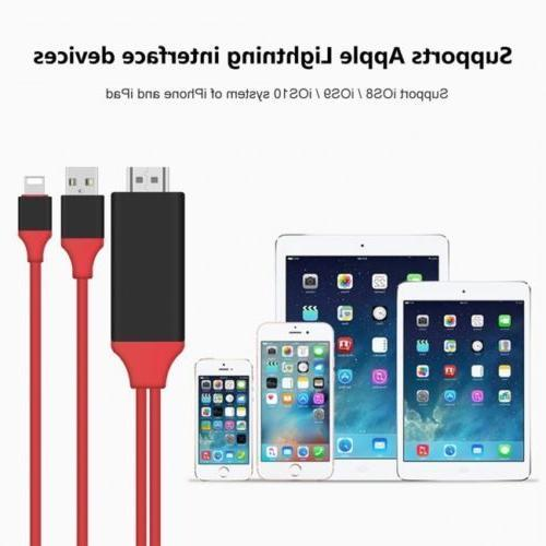 Lightning to Cable Digital for iPhone X XS Newest