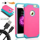Official Lightning Cable Full-Body Shockproof Protective She