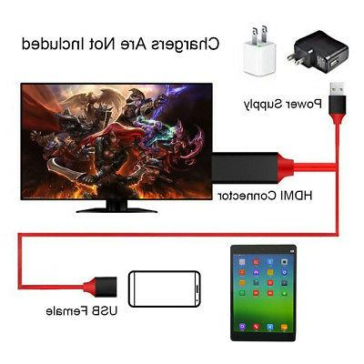 For Samsung S9 9 Type-C USB-C to HDMI HDTV 4K Cable