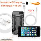Ultra Smart Rugged Armor Hybrid Case REAL Lightning Cable Fo