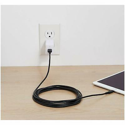 AmazonBasics to USB A Certified Charger - Black, 10