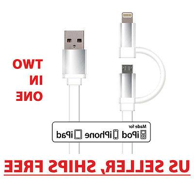 Idea Apple Lightning Cable with Micro USB Lightning Dual 2-i