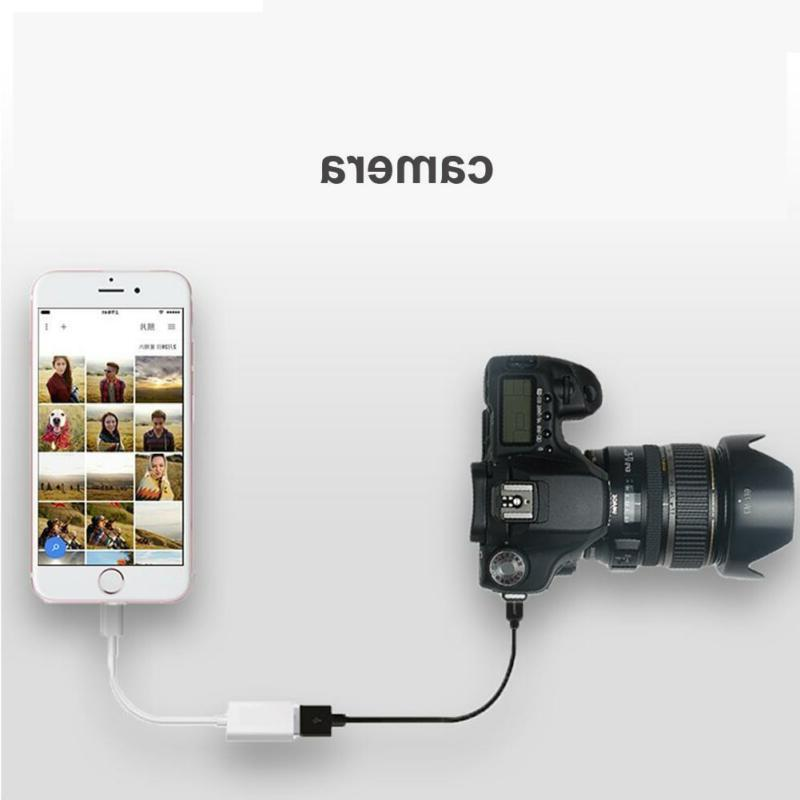 Lightning to Camera Adapter For iPhone iPad