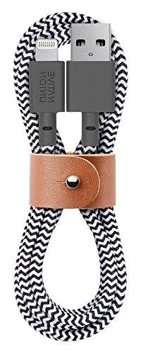 Native Union BELT Cable - 4ft Ultra-Strong Reinforced  iPhon
