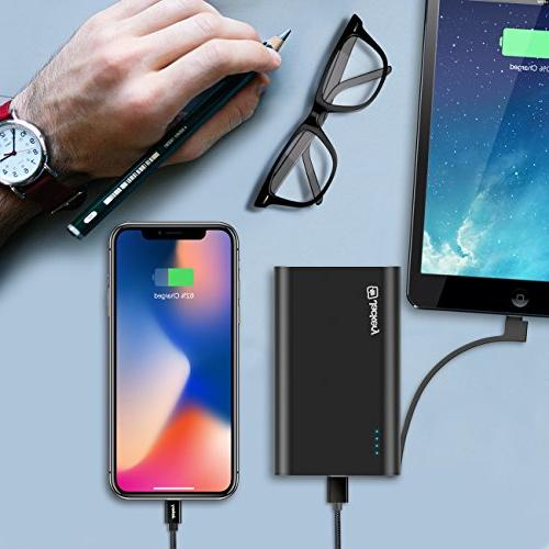 Jackery Power Bank, Built-in Lightning Battery Xs/Xs max, iPhone etc, as