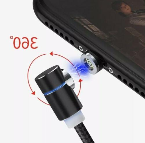 Elbow Magnetic Cable Lightning USB Iphone