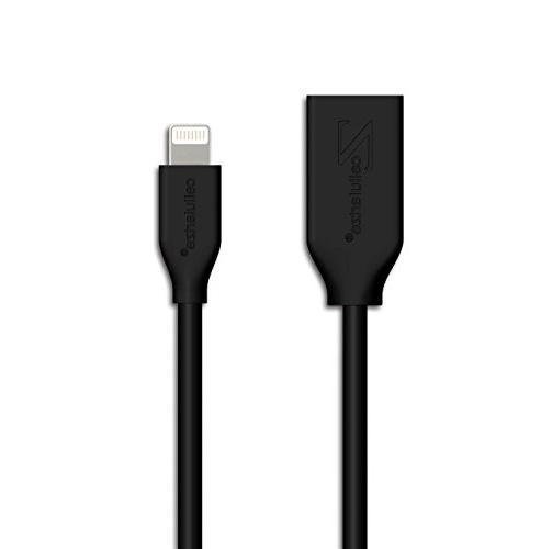 Lightning Extension 8 Pin Cable iPhone 7, 8, X, iPad; Video,